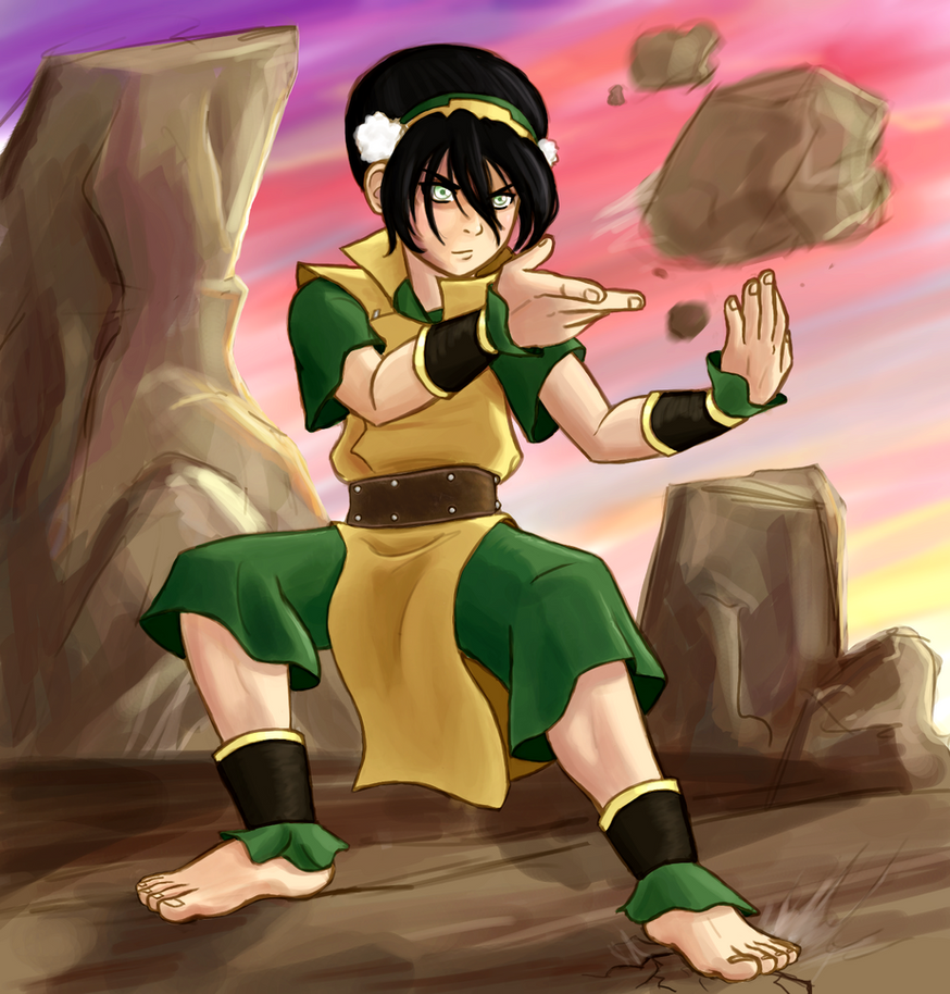 Toph Bei Fong By Punker--rocker On DeviantArt