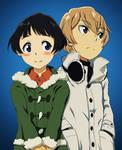 [Boku dake ga inai machi]Hiromi and Kenya