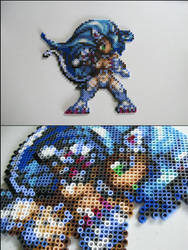 Felicia from Darkstalkers bead sprite by 8bitcraft