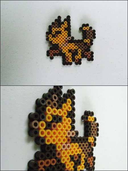 Chrono Trigger Cat (walking) bead sprite by 8bitcraft