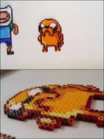 Adventure Time Jake bead sprite by 8bitcraft