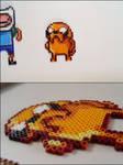 Adventure Time Jake bead sprite