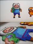 Adventure Time Finne bead sprite magnet