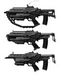 Melee Submachine Gun