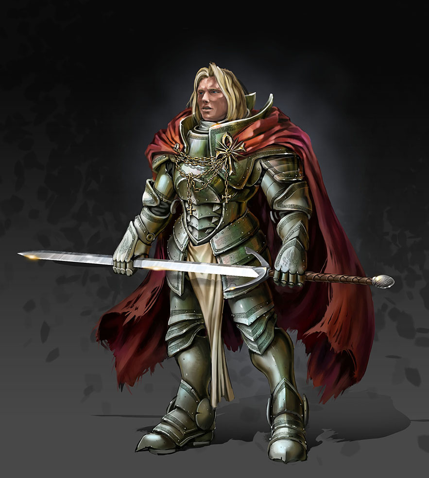 Warrior-Knight by Gin-sensei