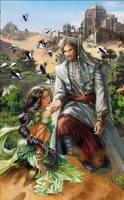 Art for Russian Love Novel Book-cover