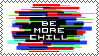 be more chill stamp by qutille