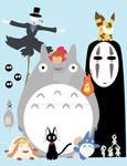The Ghibli Gang