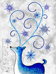 Blue rudolph