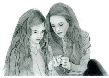 Renesmee and Bella Cullen