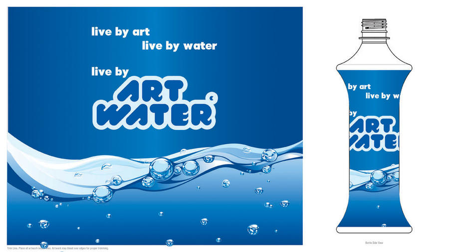 art water label designs by me by circassianrider on DeviantArt