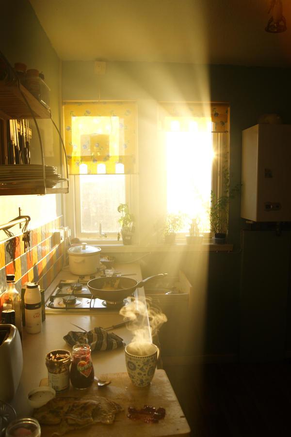 Pancake Sunset by Aloof-I