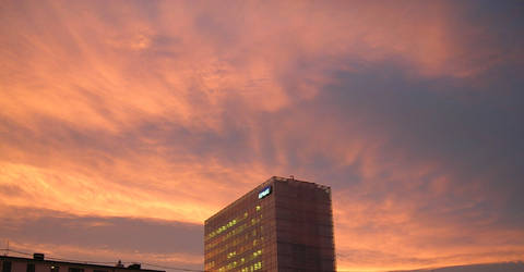 Sunsetsky-picture from Oslo