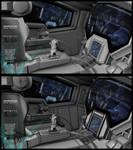 Gundam 00 Exia Cockpit