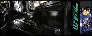 C4D-Gundam Exia Cockpit - 004 by fldizayn