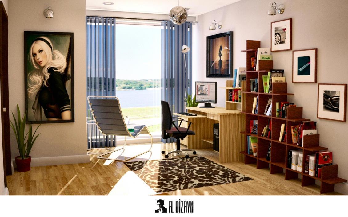 maxon cinema 4d interior design by fldizayn on deviantart. Black Bedroom Furniture Sets. Home Design Ideas