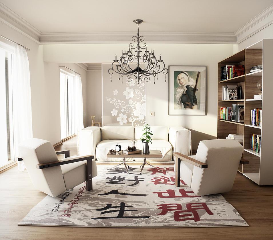 Interior Design - Cinema 4D 001 By FL Dizayn by fldizayn on DeviantArt