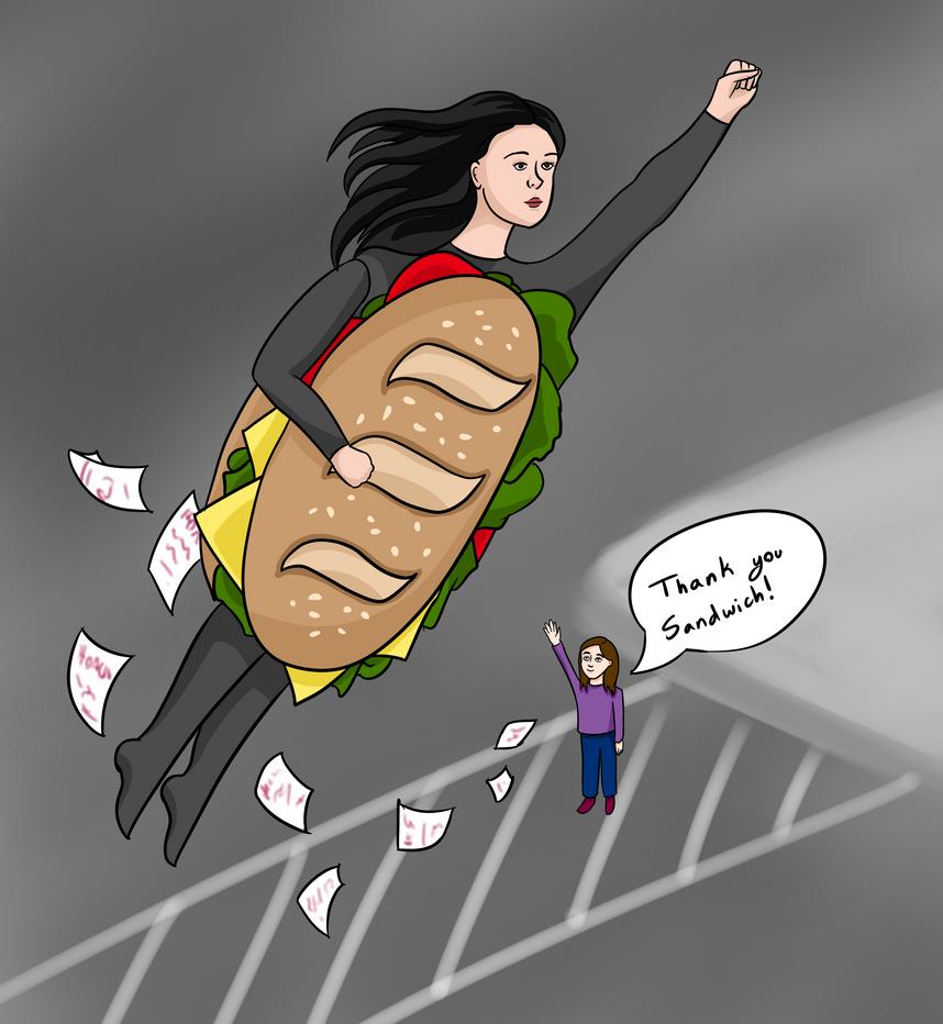 The Sandwich Saved Me! by ZionAngel