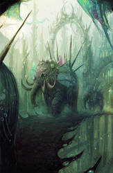 elephant by neisbeis