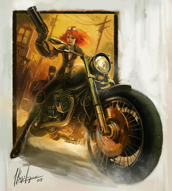 Rider Hunter by neisbeis