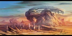 city desert concept