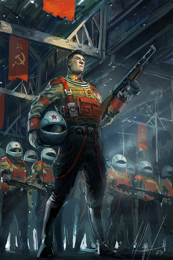 Nuclear Russian Soldier
