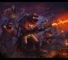 enemies  Von Fisher by neisbeis
