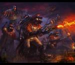 enemies  Von Fisher