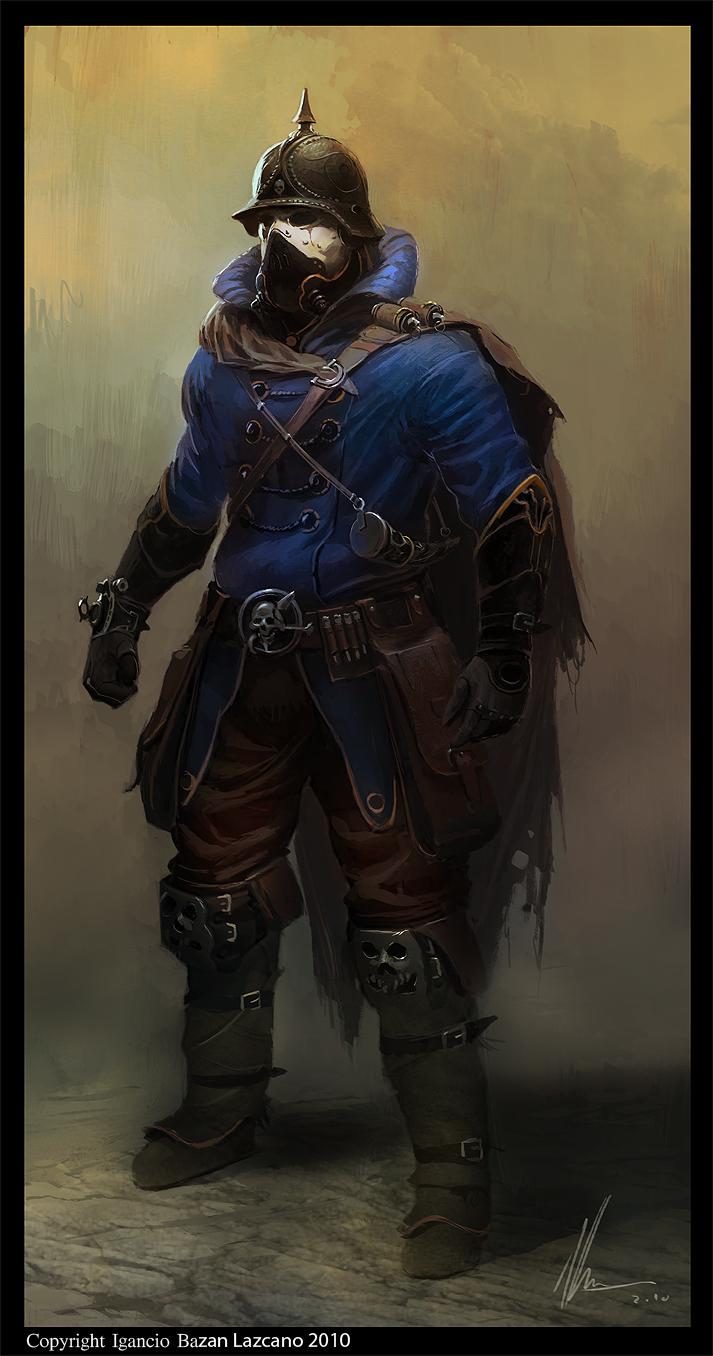 Von fisher character designe by neisbeis