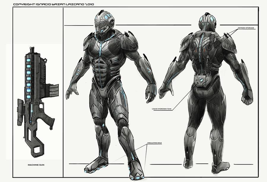 schematic marine tuto by neisbeis