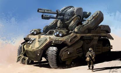 Light Tank by neisbeis