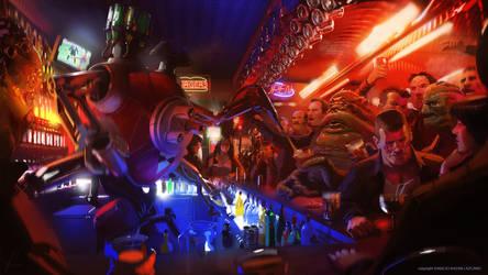 Robot bar tender