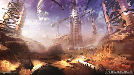 desert tower by neisbeis