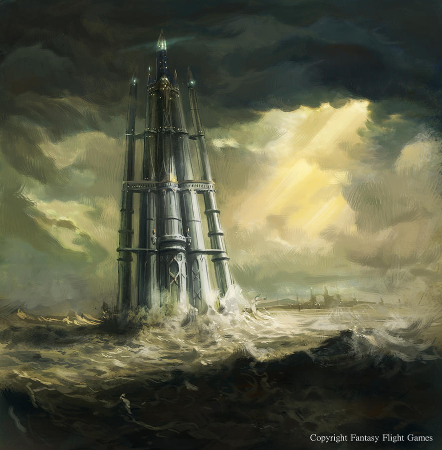 The Glittering Tower By Neisbeis On Deviantart