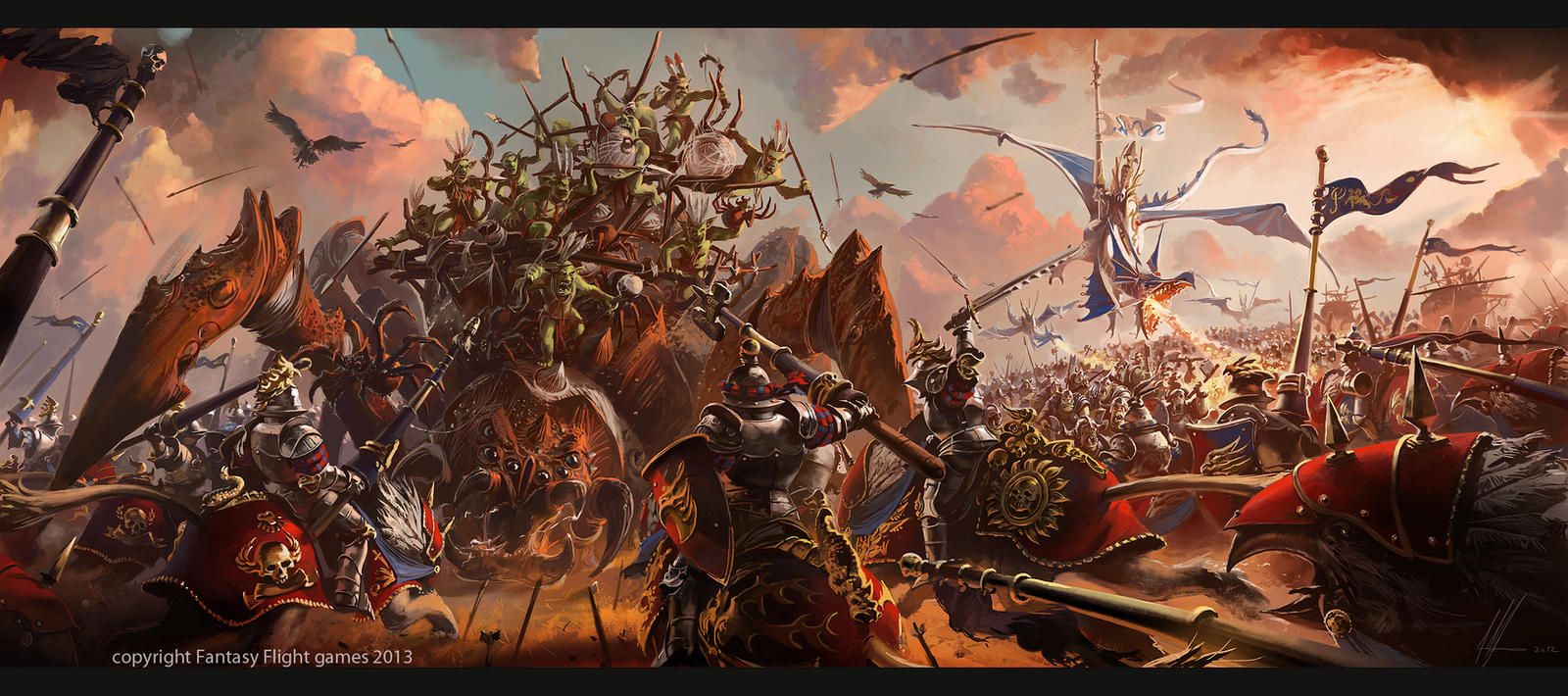 Warhammer invasion Cataclysm Expansion by neisbeis