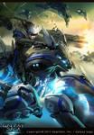 Blue Flashy Rider 2