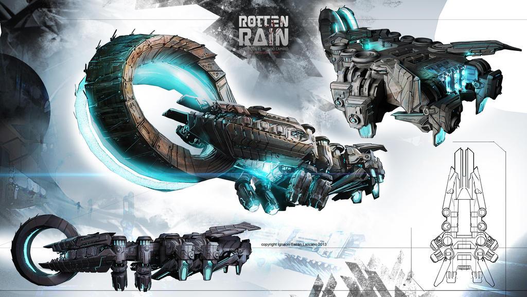 Spaceship Rotten Rain Schematic by neisbeis