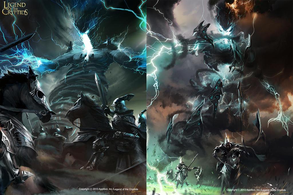 Gandozum the thunder giant  by neisbeis