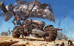 Desert Bike Rebel Camp