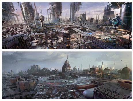 sci fi cities 2