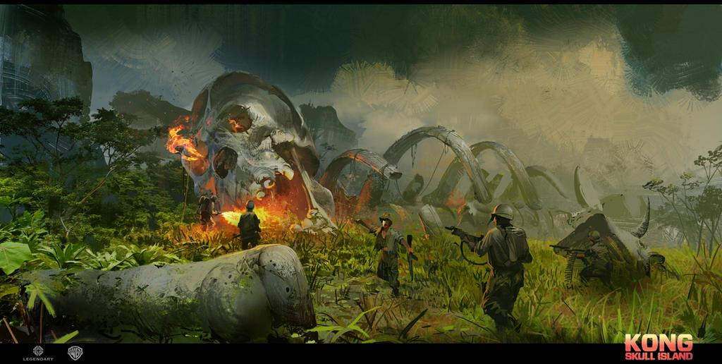 Skull Island concept art 1 by neisbeis
