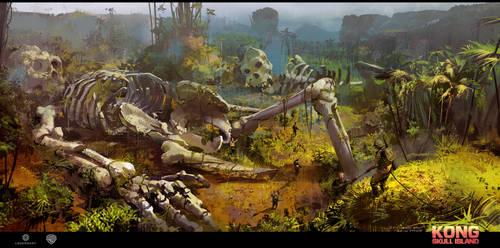 Skull Island concept art 5