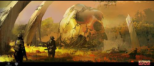 Skull Island concept art 6 by neisbeis