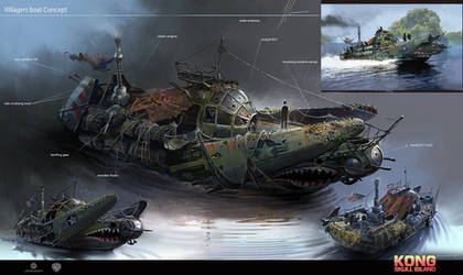 Skull Island concept art 7