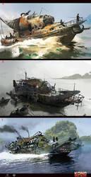 Skull Island concept art 8