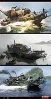 Skull Island concept art 8 by neisbeis