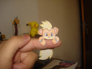 A wild Growlithe appeared in my finger