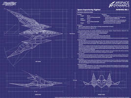 StarFox Arwing Mk 1 WP Revamp by CalicoStonewolf