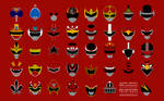 Super Sentai 39th Anniverary Red Collection