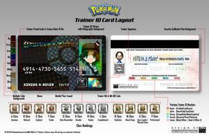 Pokemon Trainer ID Card by CalicoStonewolf